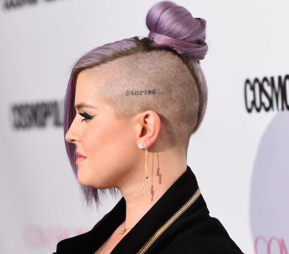 Kelly Osbourne decidiu fazer uma tatuagem na cabeça (Foto Ilustrativa)