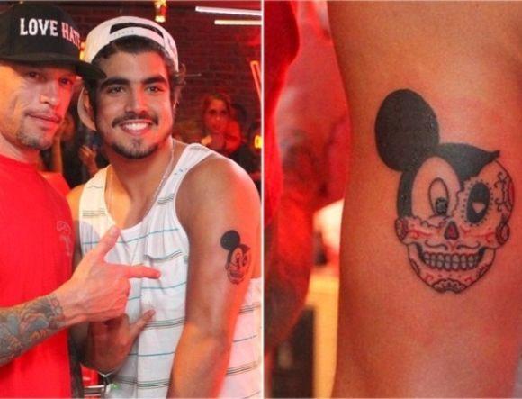 A tatuagem diferente de Caio Castro (Foto Ilustrativa)