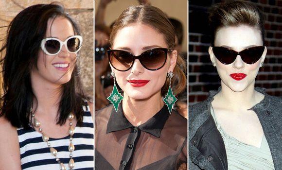 Os óculos gatinho vão deixar as praias mais fashion (Foto Ilustrativa)
