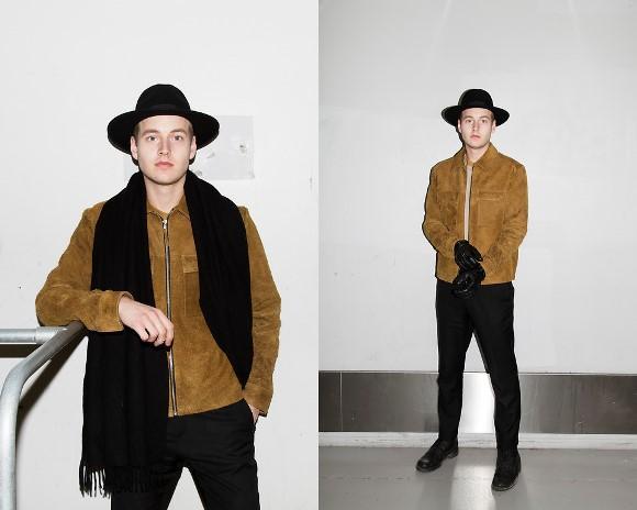 O chapéu também está super em alta entre os homens. (Foto: Reprodução/Lookbook.nu)