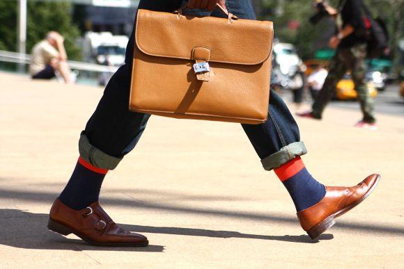 As bolsas têm ganhado bastante adeptos entre os homens (Foto Ilustrativa)