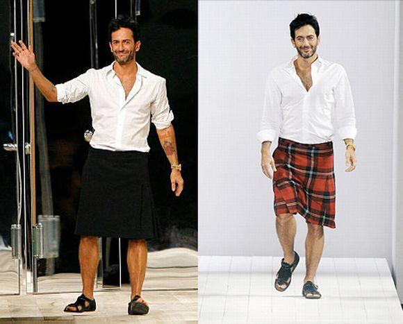 As saias masculinas estão conquistando muito espaço (Foto Ilustrativa)