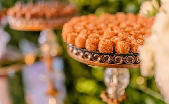 Muitos casamentos já servem doces fitness aos convidados. (Foto: Reprodução/Inesquecível casamento)