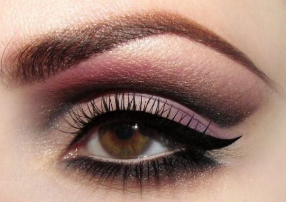 Olho esfumado marrom. (Foto Ilustrativa)