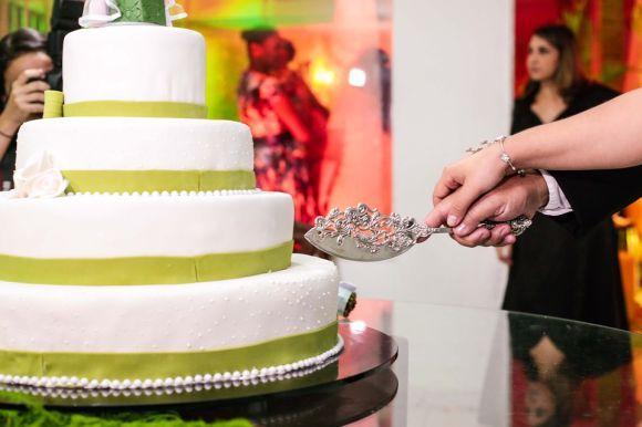 O bolo costuma ser um dos destaques das festas de casamento (Foto Ilustrativa)