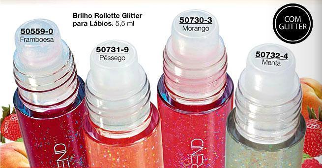 Brilho Rolette Glitter para Lábios da Avon é um outro produto que pode ser comprado online (Foto: Divulgação)