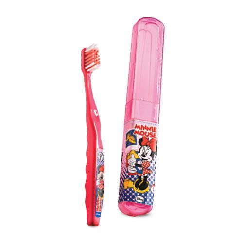 Escova de Dentes Minnie com estojo também podem ser comprados na Avon Pedido Fácil (Foto: Divulgação)