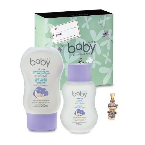 Estojo AVON Baby Calming - Conheça a Avon Pedido Fácil e faça o seu pedido online (Foto: Divulgação)