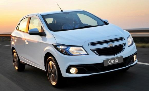 Chevrolet Onix. (Foto: Divulgação)