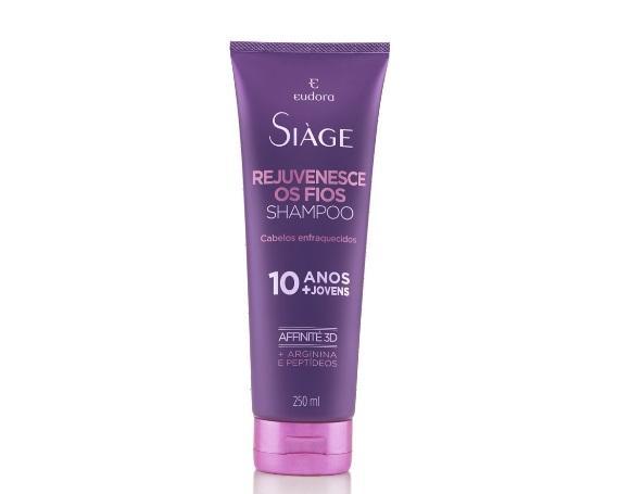 Shampoo Eudora Rejuvenesce. (Foto: Reprodução/Eudora)