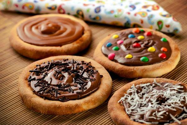 As esfihas de chocolate do Habib's são uma delícia (Foto: Reprodução)
