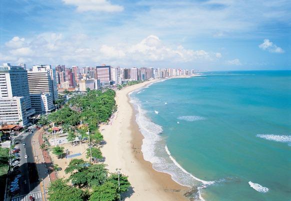 Passar o natal numa praia de Fortaleza também é bacana. (Foto: Reprodução/Alpha Praia Hotel)