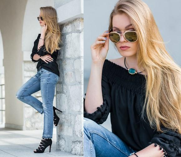 O jeans é um material que nunca sai de moda. (Foto: Reprodução/Lookbook.nu)