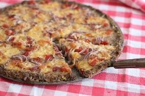 Receita Pizza de Carne Moída