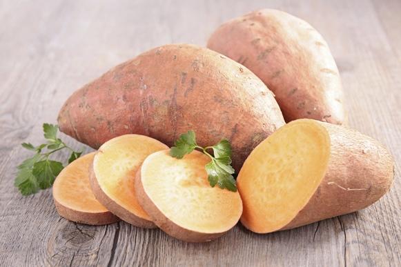 A batata doce é aliada da boa forma física. (Foto Ilustrativa)