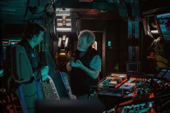 Mais uma intervenção do diretor Ridley Scott (Foto: Reprodução internet)