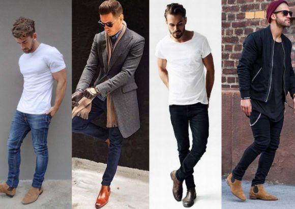 As Chelsea Boots são um grande sucesso entre os homens (Foto Ilustrativa)