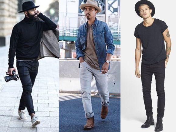 Looks casuais também combinam demais com chapéu (Foto Ilustrativa)