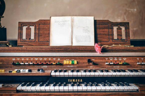 Aulas de teclado também são oferecidas pela Fundamas (Foto Ilustrativa)