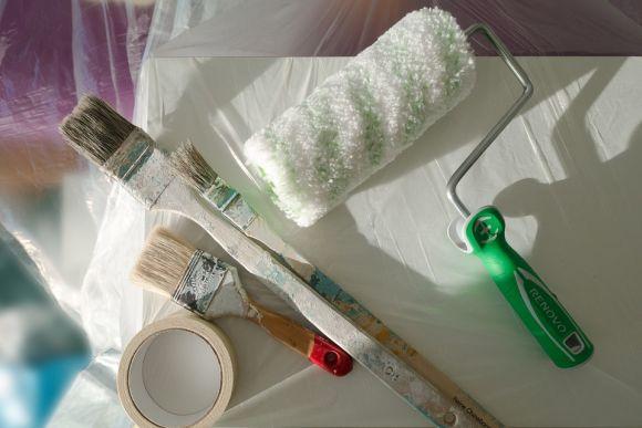 Também há oportunidades para o curso de Pintor de Imobiliárias (Foto Ilustrativa)