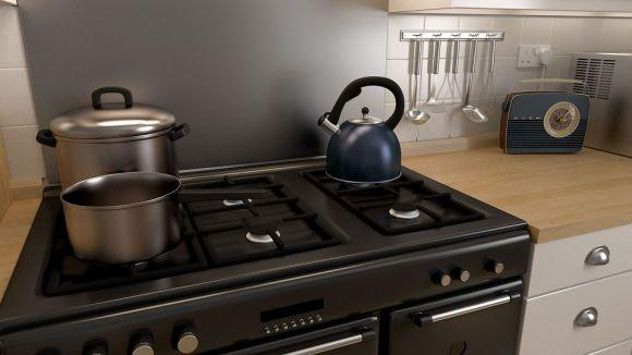 Ganchos e cestos são itens fundamentais na organização da cozinha (Foto Ilustrativa)