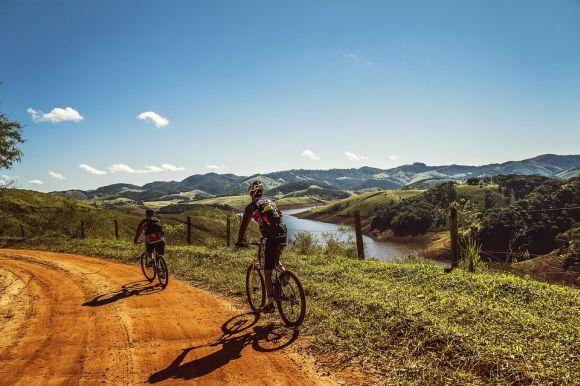 Andar de bike também é uma boa (Foto Ilustrativa)