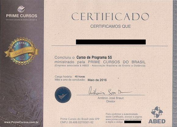 Cursos online com certificado são oferecidos pela Prime Cursos (Foto: Reprodução Prime Cursos)