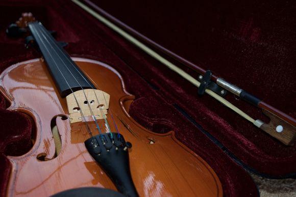 O curso de violino é uma das opções (Foto Ilustrativa)