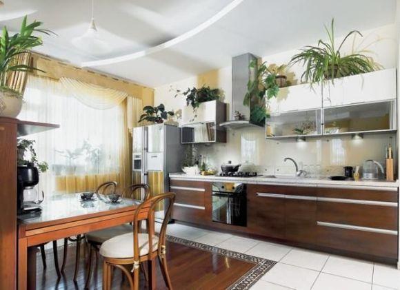 O uso de plantas na cozinha é outra tendência (Foto Ilustrativa)