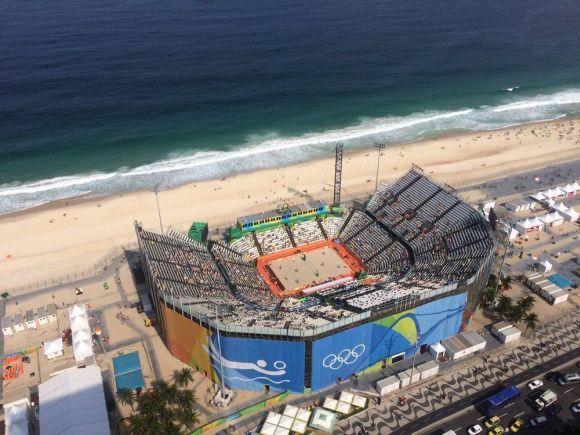 Os Jogos Olímpicos de Verão estão sendo disputados durante o inverno no Brasil (Foto: Divulgação)