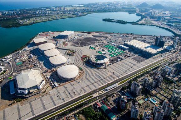 O Parque Olímpico foi erguido no local onde ficava o Autódromo de Jacarepaguá (Foto: Divulgação)