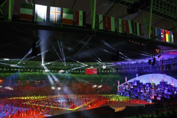 A Cerimônia de Abertura Rio 2016 foi bastante elogiada (Foto Ilustrativa)