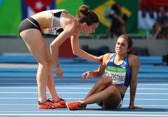 O espírito olímpico também se fez presente no atletismo (Foto Ilustrativa)