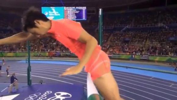 O salto do japonês rendeu vários memes (Foto Ilustrativa)