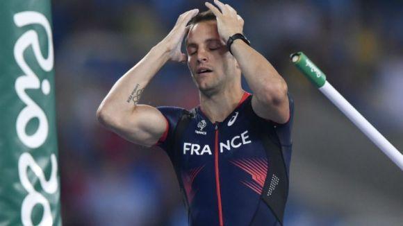 A vaia da torcida irritou o saltador francês (Foto Ilustrativa)