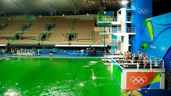 O mistério da piscina verde (Foto Ilustrativa)