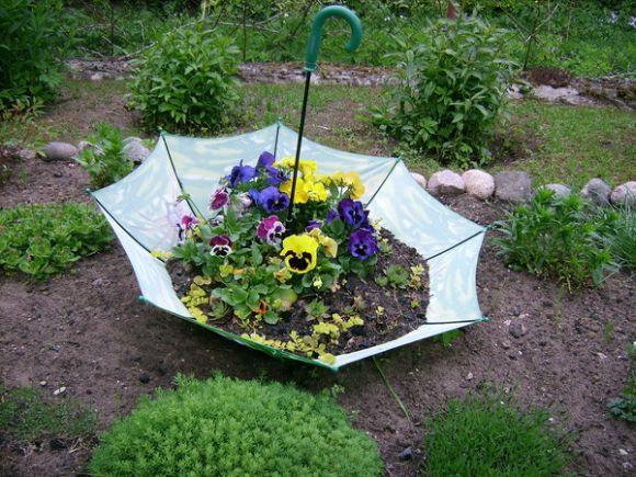 É possível aproveitar vários itens para mudar o visual dos jardins (Foto Ilustrativa)