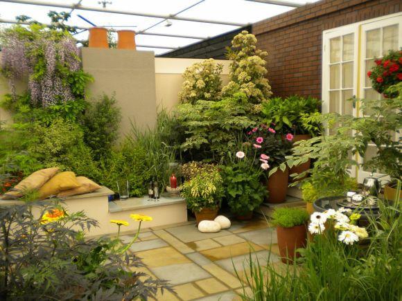 O jardim deve ser um espaço agradável e relaxante (Foto Ilustrativa)