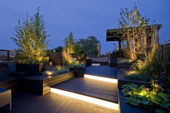 iluminacao led jardins:iluminação para jardim não pode ser esquecida (Foto Ilustrativa)