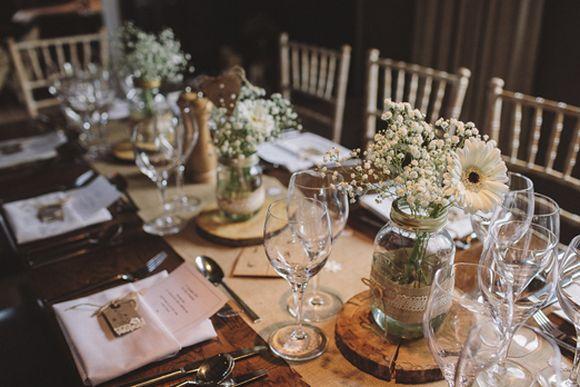 40 decorações para mesas de casamento 2017