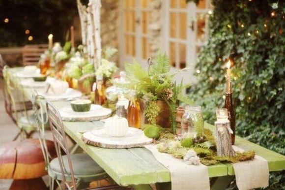 40 decorações para mesas de casamento 2017 (Foto Ilustrativa)