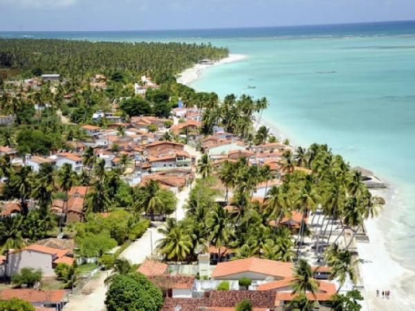 Maragogi fica no litornal norte de Alagoas (Foto: Prefeitura de Maragogi)