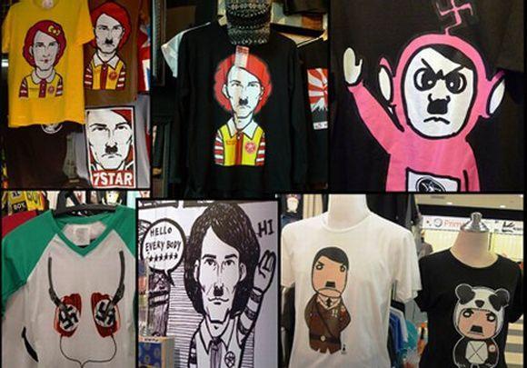 E camisas com a imagem de Hitler? (Foto Ilustrativa)