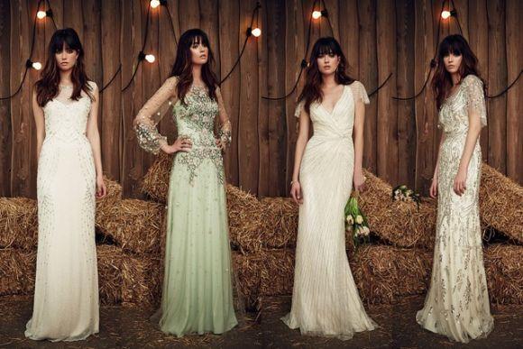 Vestidos de noiva com pedraria (Foto Ilustrativa)