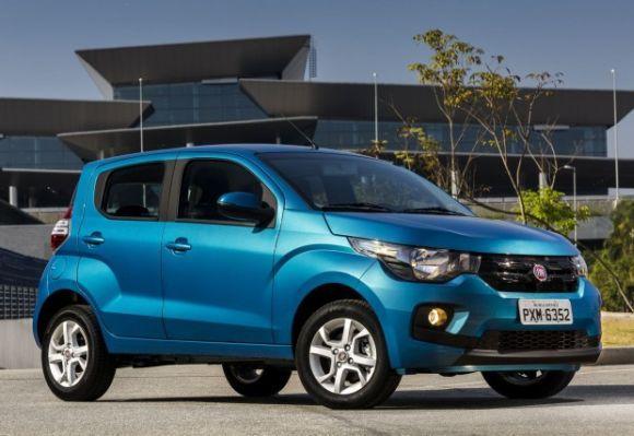 O Mobi, novo modelo da Fiat, apresentou boas vendas em julho (Foto: Divulgação Fiat)