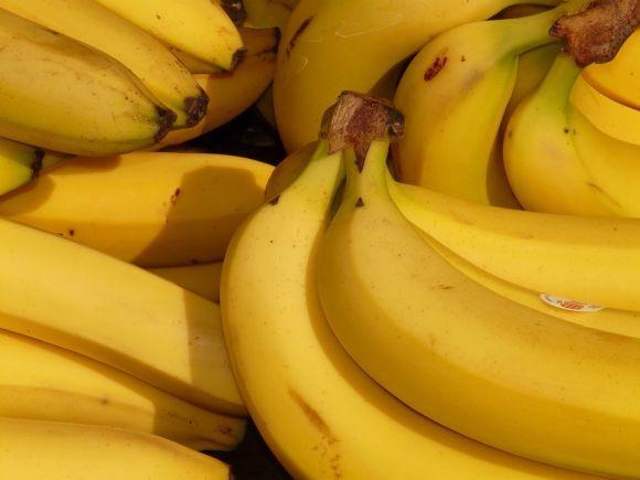 A banana é excelente fonte de carboidrato e potássio (Foto Ilustrativa)