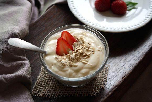 O iogurte natural ajuda na recuperação dos músculos (Foto Ilustrativa)