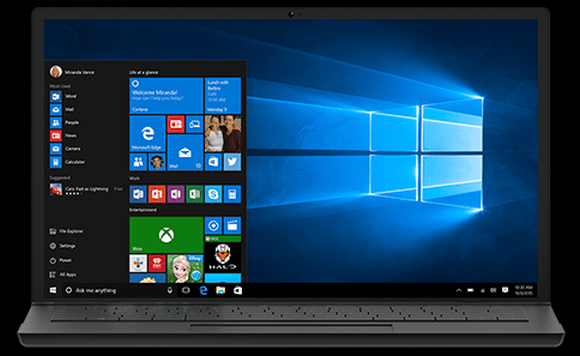 A nova atualização do Windows 10 traz a assistente virtual Cortana em português (Foto: Reprodução Microsoft)