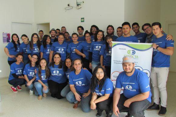 O Programa Conecta Copersucar oferece qualificações para jovens na área de eventos (Foto: Divulgação Conecta)