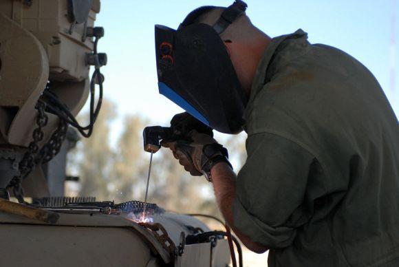 O curso de soldador Senai é outra das alternativas (Foto Ilustrativa)